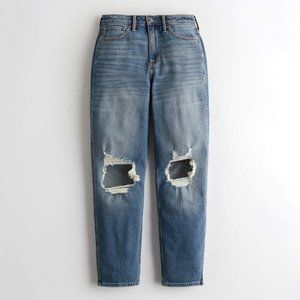 Hollister High Rise Mom Jeans